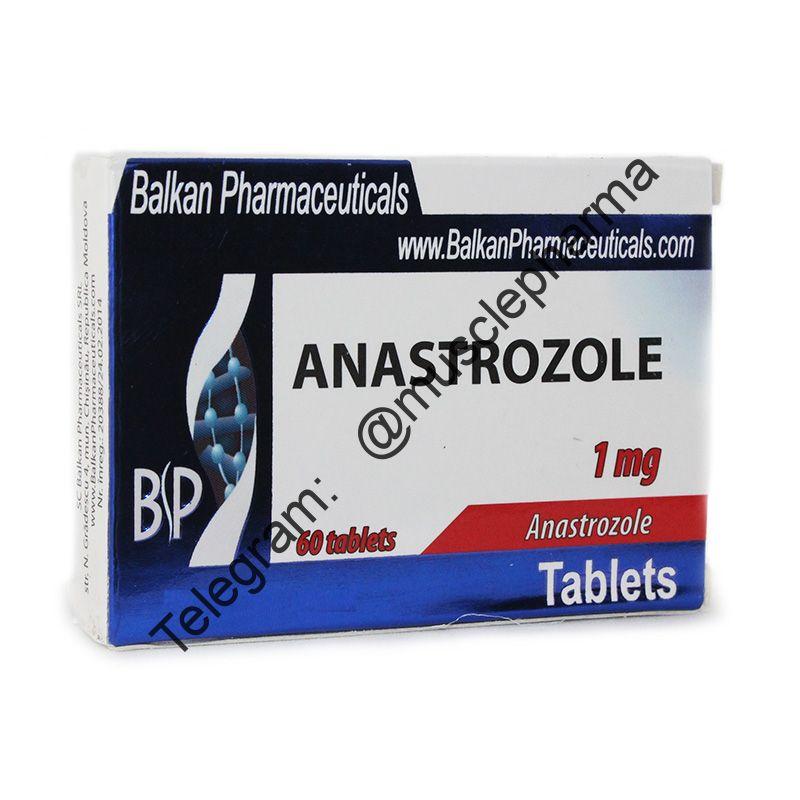 ANASTROZOL (АНАСТРОЗОЛ). BALKAN PHARMA. 25 таб. по 1 мг.