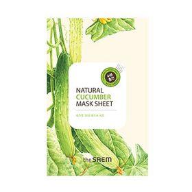 The saem Natural Cucumber Mask Sheet 21ml -  Маска тканевая с экстрактом огурца