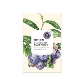 The saem Natural Blueberry Mask Sheet 21ml - Маска тканевая с экстрактом черники