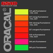 Пленка цветная ORACAL 6510-все цвета оранж, желтый, 29,39
