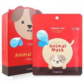 Berrisom animal mask hyaluronic DOG - Маска тканевая с гиалуроновой кислотой