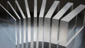 Стекло экструзионное прозрачный акрил plexiglas, 2мм