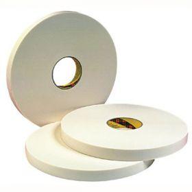 Скотч 3М. Двусторонняя лента, белая.  Толщина 0,8 мм. 9508W 9ммх66м