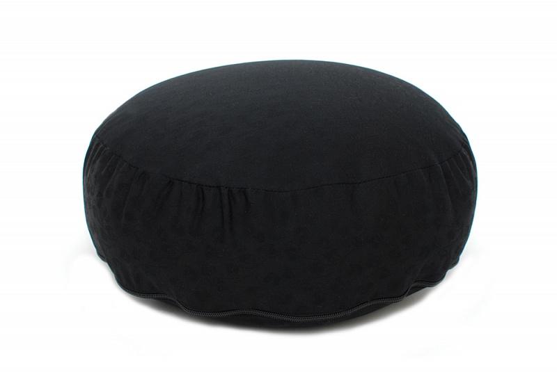 "Подушка ""Жаккард"" кругл., 35*10 см"
