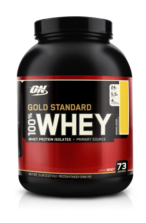 OPTIMUM NUTRITION 100% Whey Protein Gold standard 5 lb (2,27кг.)  скл2 1-2дня