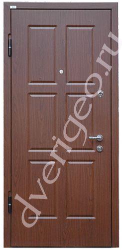 Металлические двери ПВХ+ ПВХ