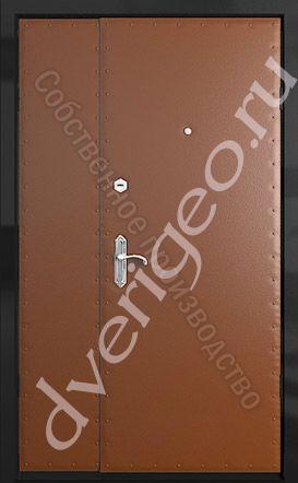 Дверь тамбурная (винилискожа+винилискожа) тамбурные двери эконом класса