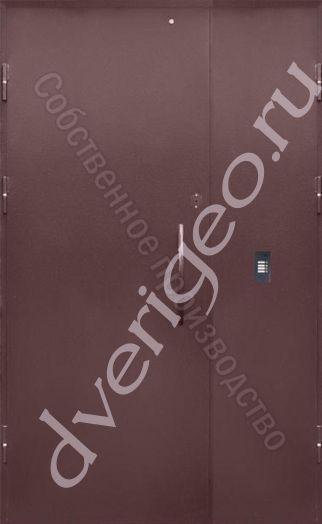 Дверь тамбурная (Покрас НЦ + Покрас НЦ)