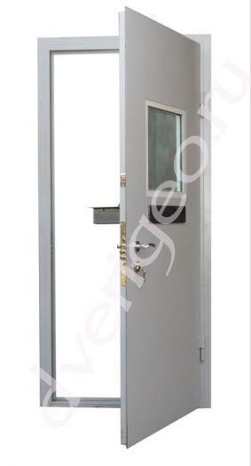 Техническая металлическая (стальная) дверь-касса
