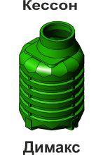 Кессон пластиковый для скважины Димакс