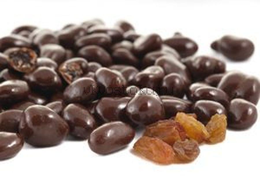 Изюм  в темном шоколаде 1кг