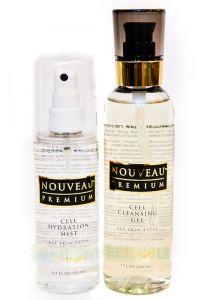 Набор средств для бережного очищения и интенсивного увлажнения кожи.
