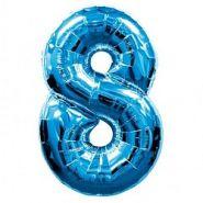 """Фигура """"8""""  (40""""/102 см) синий"""
