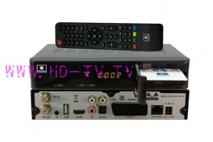 Комплект НТВ-ПЛЮС Full HD с ресивером NTV-PLUS 1 HD VA (новинка НТВ-ПЛЮС)