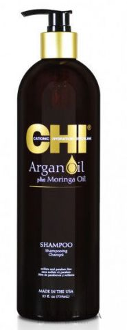 Восстанавливающий шампунь с маслом арганы, 750 мл.CHI Argan Oil Plus Moringa Oil Shampoo