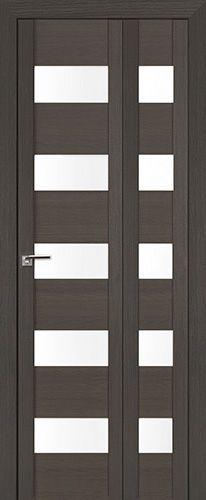 Межкомнатная дверь Профильдорс 29x складная , стекло матовое