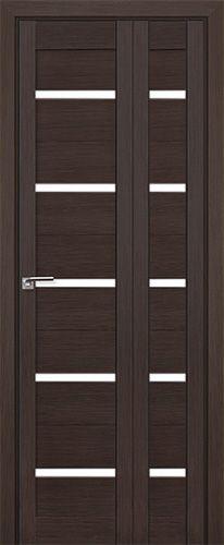 Межкомнатная дверь Профильдорс 7x складная , стекло матовое