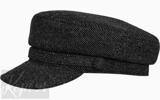 Картуз-фуражка шерстяная крапинка
