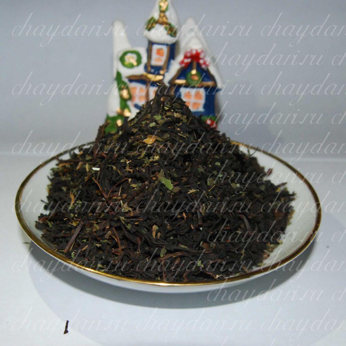 Черный чай с мелиссой и мятой (50 г.)
