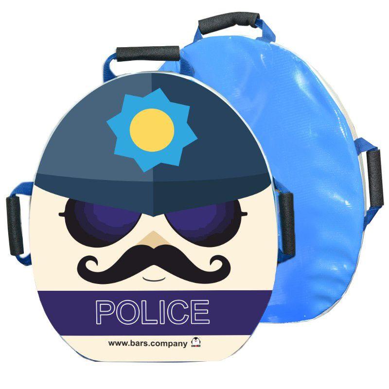 "Санки-ледянка мягкая ""Snowkid Полиция "" 50 см"