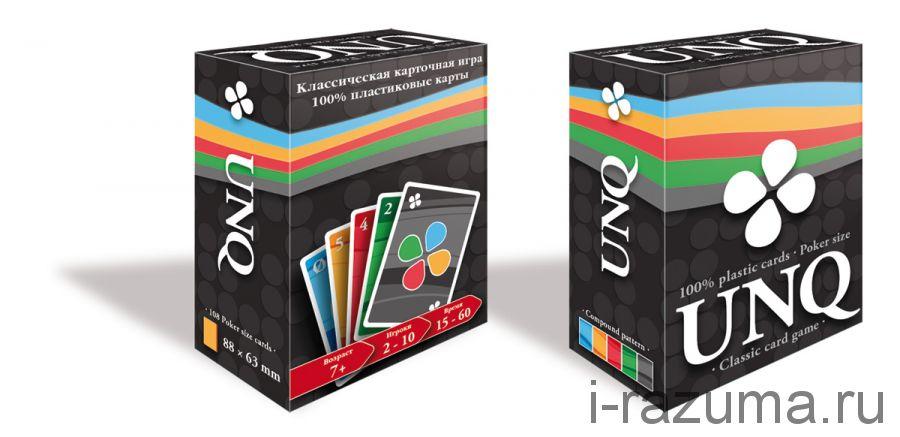 Уно Uno Пластиковые карты