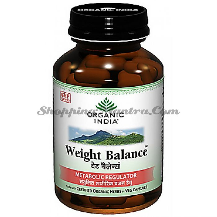 Wt-Balance капсулы для здорового метаболизма Органик Индия / Organic India Wt-Balance Healthy Metabolism