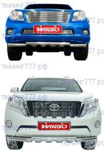 Защита переднего бампера, Winbo, сталь