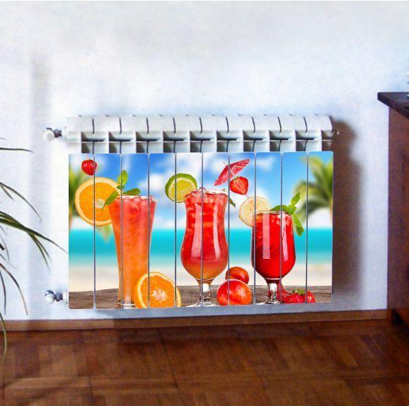 """Фотодекор для радиатора отопления """"Кухня 0003"""""""