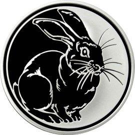 3 рубля 2011 г. Кролик