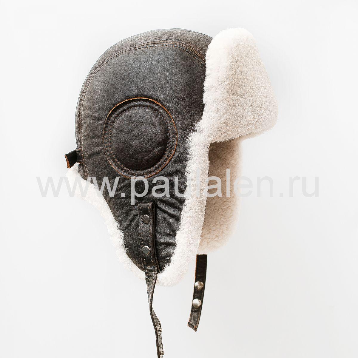 Овчинная шапка Авиатор