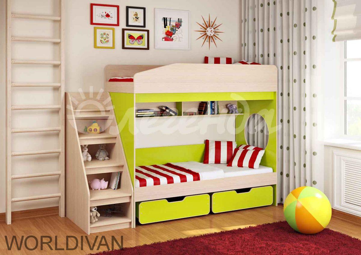 Комплект мебели Легенда 10 (универсальный) двухъярсная кровать