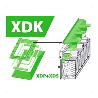 FAKRO XDK комплект окладов гидро-пароизоляционных