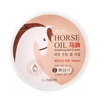 THE SAEM HORSE OIL SOOTHING GEL CREAM 300МЛ - разглаживающий гель для лица и тела c конским жиром