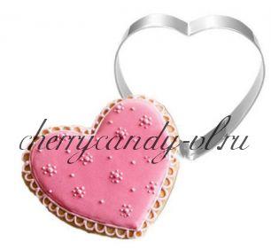 Форма металлическая Сердце