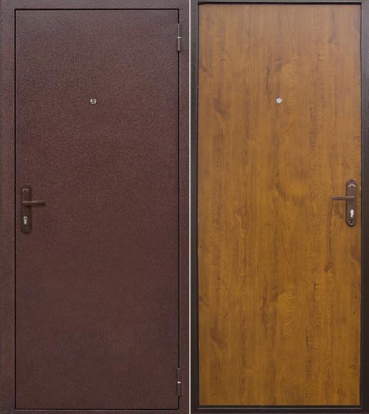 """Дверь """"Стройгост 5-1"""" Золотистый дуб"""