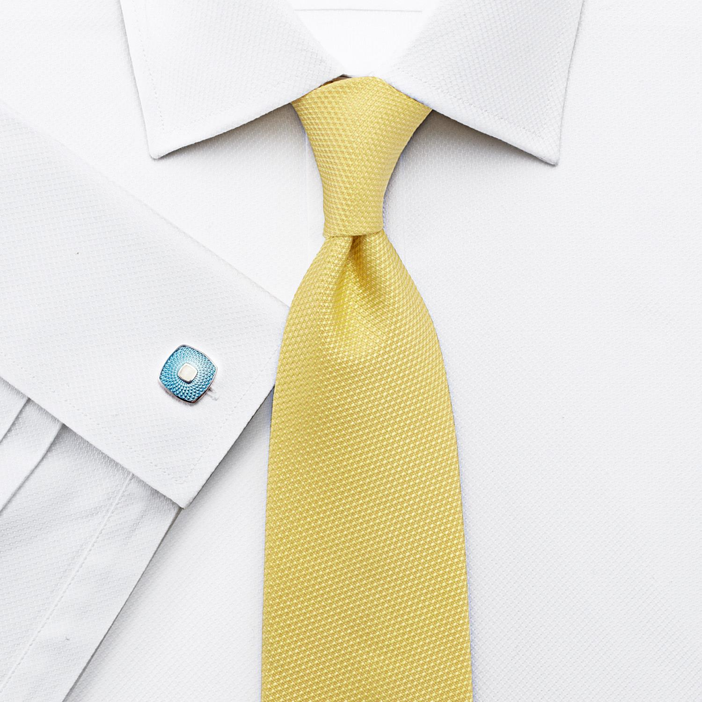 7ce6da0191c Мужская рубашка под запонки Англия купить Москва белая Charles Tyrwhitt  приталенная Slim Fit