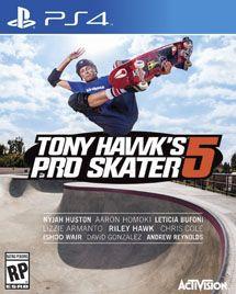 Игра Tony Hawk's Pro Skater 5 (PS4)