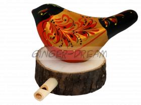 Игрушка ручной работы | Свистулька | tin whistle | Handmade