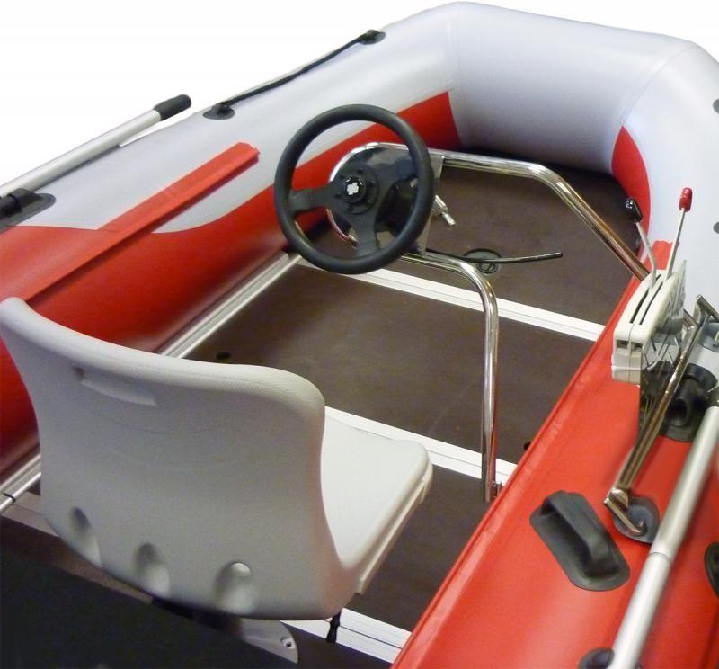 Рулевая стойка 010121Т на баллон лодки ПВХ или риба