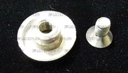 Фиксатор-гайка неподвижных стёкол хром металл