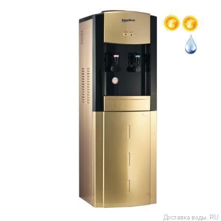 Кулер для воды Aqua Work 21 золотой/черный