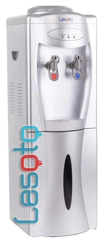 Кулер для воды LESOTO 111 L-C silver компрессор
