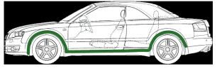 Шумоизоляция Двигателя —комплект материалов