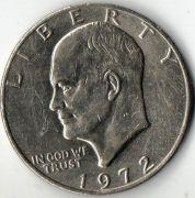 1 доллар. США. 1972 год.
