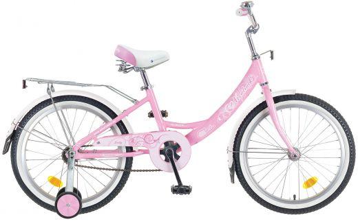 """Велосипед для девочки NOVATRACK Girlish Line  20"""" 1 (2016)"""