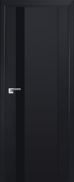 Межкомнатная дверь Профильдорс 62U Черный бархат, черный лак