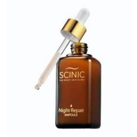 SCINIC Night Repair Ampoule 55 мл - Ночная антивозрастная сыворотка для лица