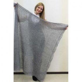 Оренбургский пуховый платок 2 сорт 120*120 см