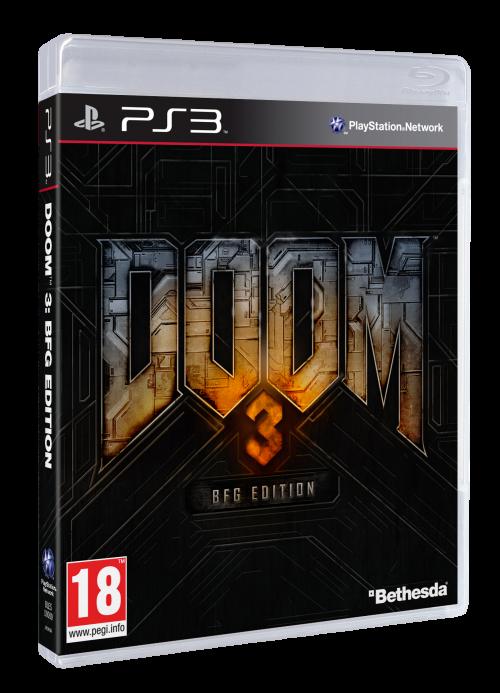 Игра Doom 3 : BFG Edition (PS3)