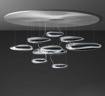 Дизайнерский потолочный светильник Mercury Sospensione P3121-W